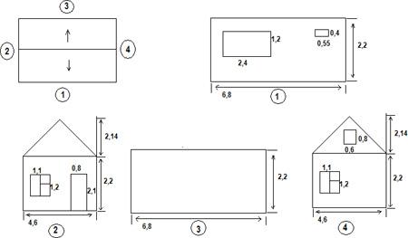 Фото: Общая схема устройства несущих конструкций здания