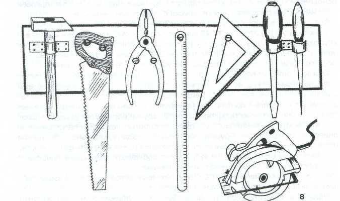 Фото: Инструменты для работ