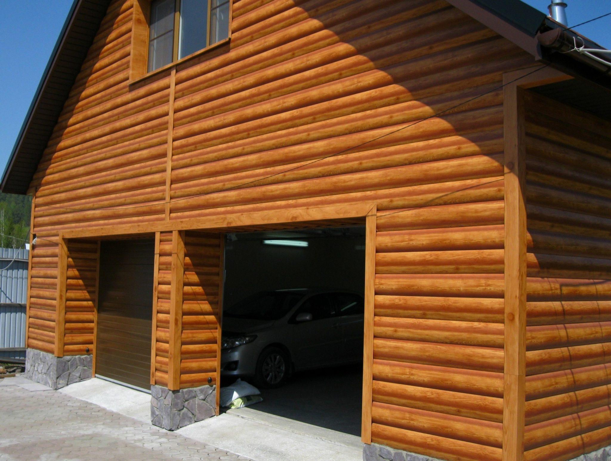 Фото: Деревянные панели для имитации бруса