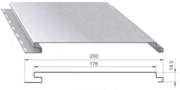 Фото: Сайдинговое полотно имеет следующие размеры