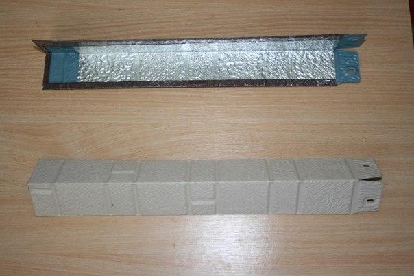 Фото: Внешний угол используемый при установке облицовки