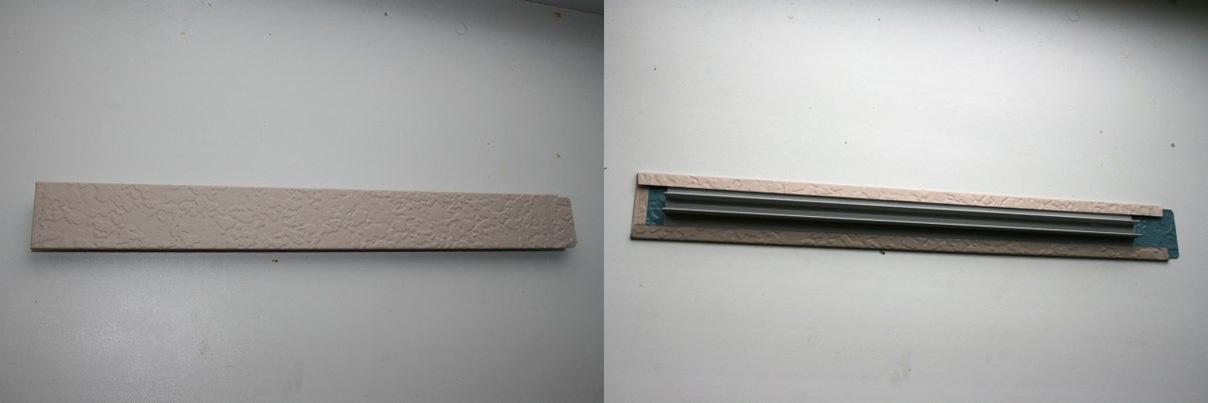 Фото: Соединительная планка для скрытия шва при установке