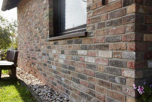 Фото: Фасадная клинкерная плитка