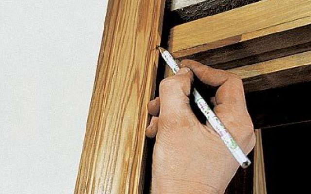 Фото: Простой способ определить высоту боковых планок