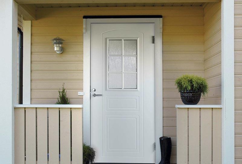 Фото: Плоский вид облицовки дверей и дверных проемов