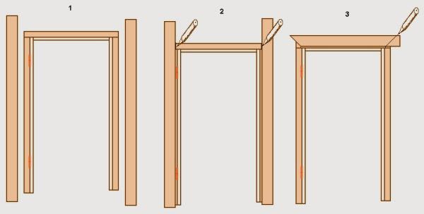 Фото: Схема подгонки реек