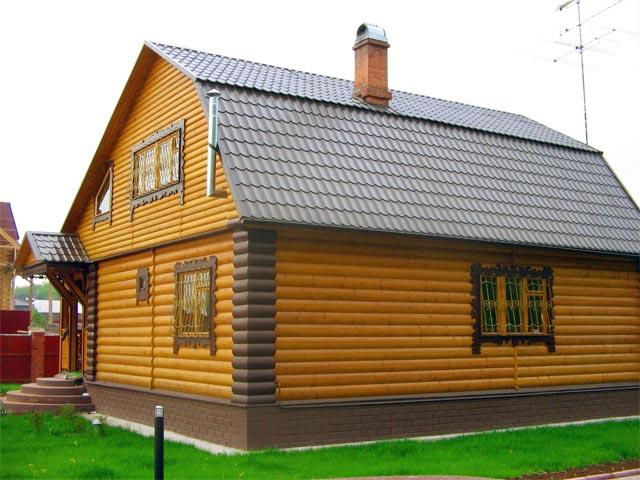 Фото: Окраска деревянных фасадов