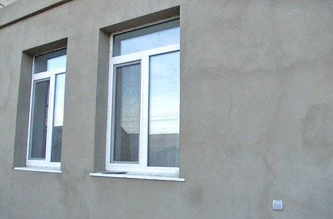Фото: Поверхность фасада перед быть без повреждений