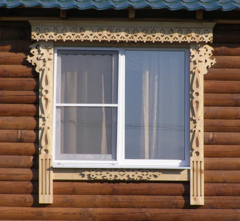 Фото: Резные наличники на окна своими руками