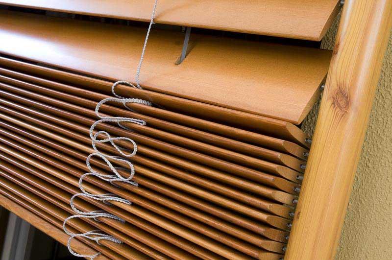 Фото: Деревянные ламели не так эффективны как металлически виды