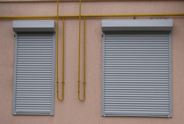 Фото: Рольставни на окна