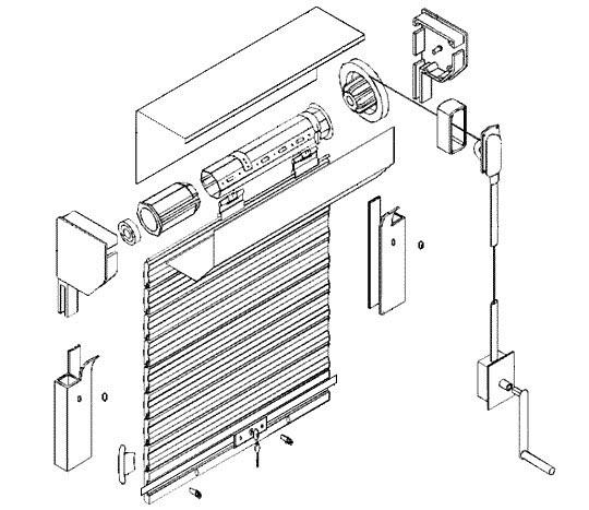 Фото: Для управления полотна у механических конструкций используется рычажное управление