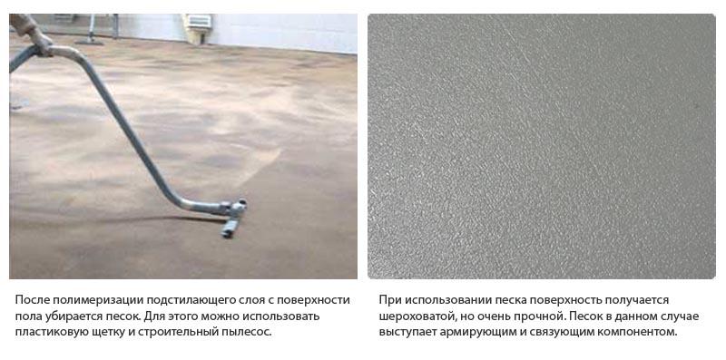 Фото: Для удаление песка после полимеризации можно использовать пылесос