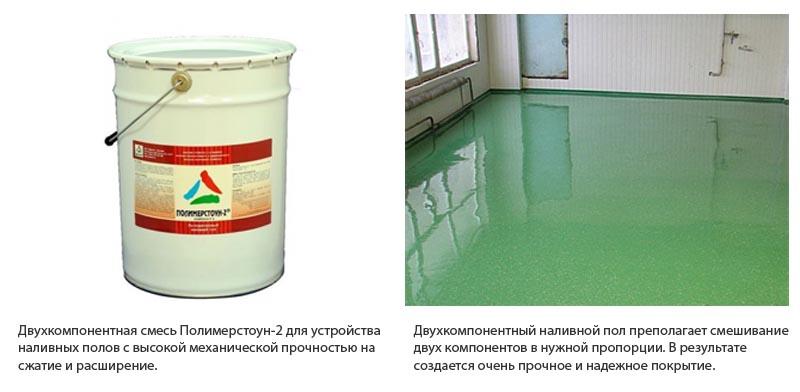 Фото: Двухкомпонентный состав от российского производителя