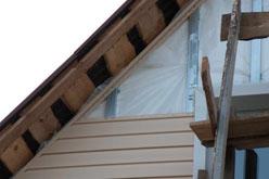 Облицовка строения виниловым или стальным сайдингом