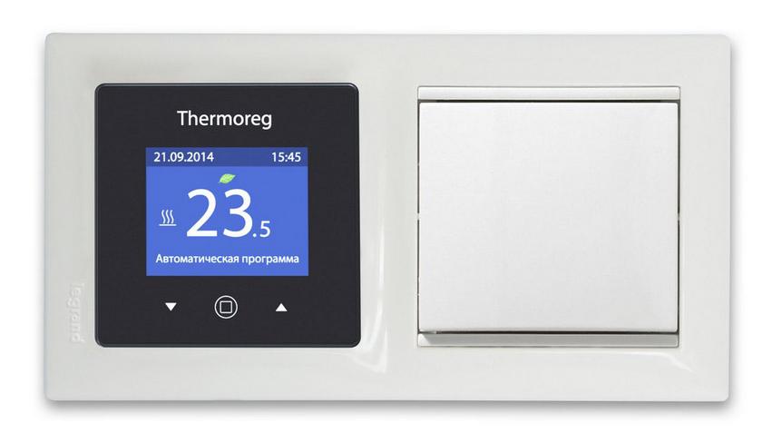 Фото: Программируемое устройство торговой марки Thermoreg
