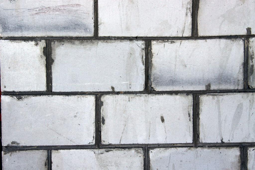 Фото: Кладки стены из пеноблока