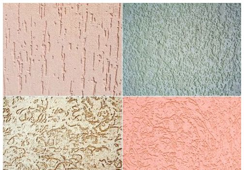 Фото: Различная текстура покрытия