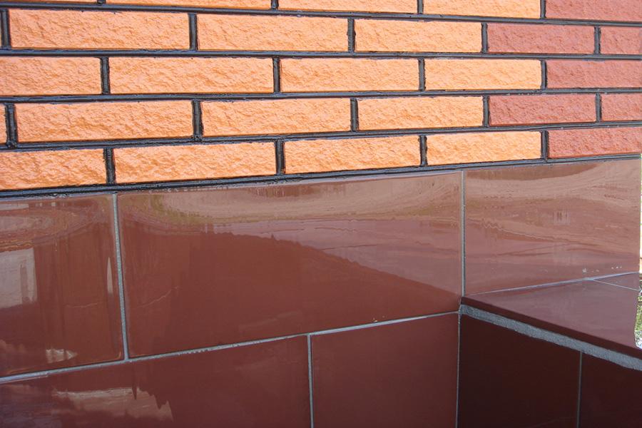 Фото: Облицовочная плитка для имитации кирпича