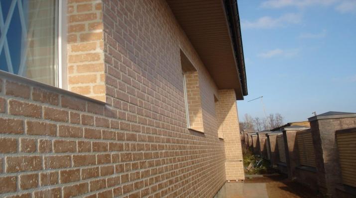 Фото: Фасадные панели для имитации кирпича