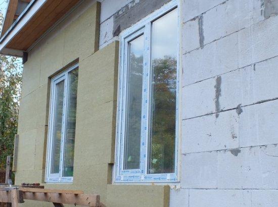 Утепление дома из газобетона снаружи и изнутри в инструкция к применению