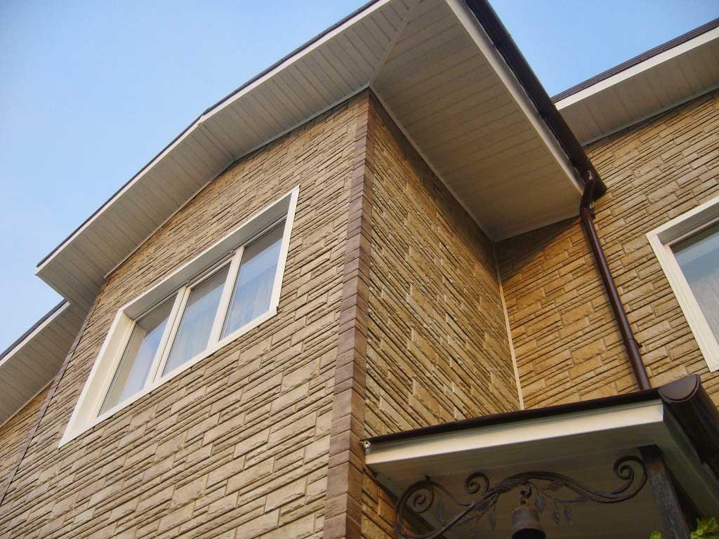 Фото: Цементные панели довольно новый тип отделки фасадов