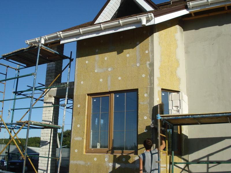 Фото: Технология мокрый фасад