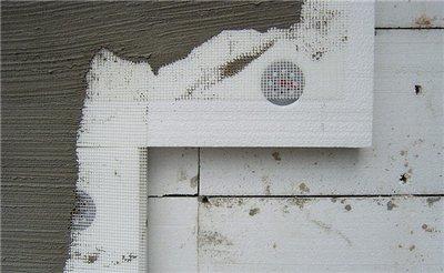 Фото: Фасадная штукатурка по пеноплексу и пенополистиролу
