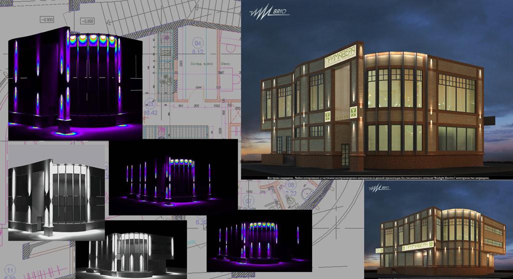 Фото: При проектировании подсветки используются специальные программы