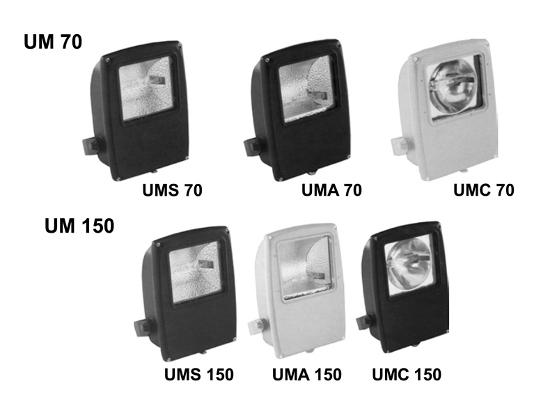 Фото: Различные типы осветительных приборов