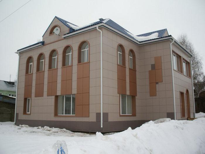 Фото: Вентилируемый фасад - технология монтажа облицовки