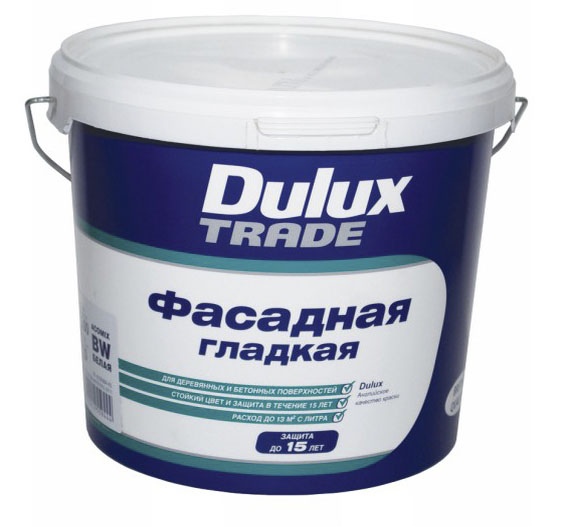 Фото: Малярная смесь марки Dulux