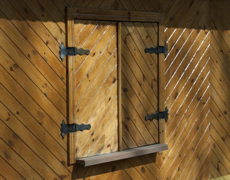 Фото: Двустворчатые изделия простой конструкции из реек