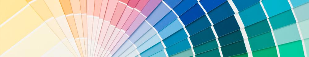 Фото: Цветовая палитра колера и колоранта