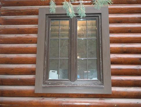 Фото: Пластиковая отделка окна