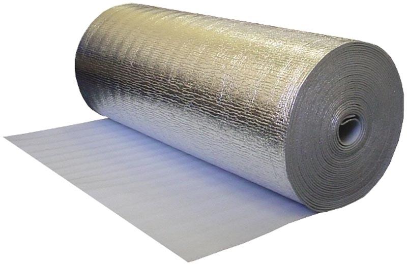 Фото: Изолон современный материал с отражающим покрытием