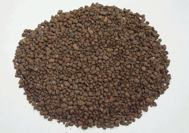 Фото: Керамзитовый песок имеет мелкие фракции до 5 миллиметров