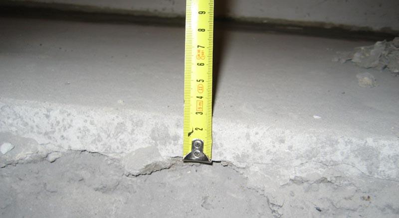 Фото: Минимальная толщина цементного слоя в 3 см