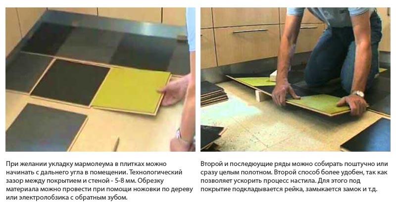 Фото: Плитки и панели можно монтировать от дальнего угла