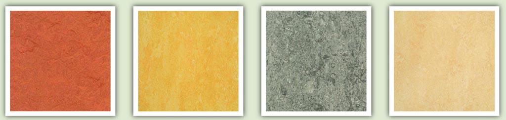Фото: Цветовые вариации от швейцарской компании Форбо